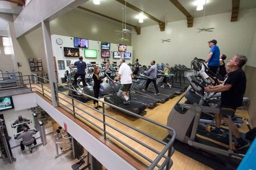 Fitness/Weight Training at the Belmont