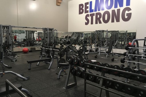 New Upstairs Weight Room Area