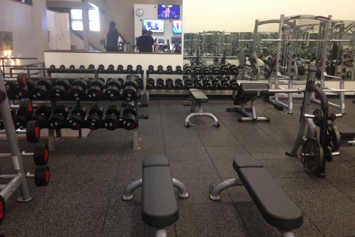 Giant Weight Room Area