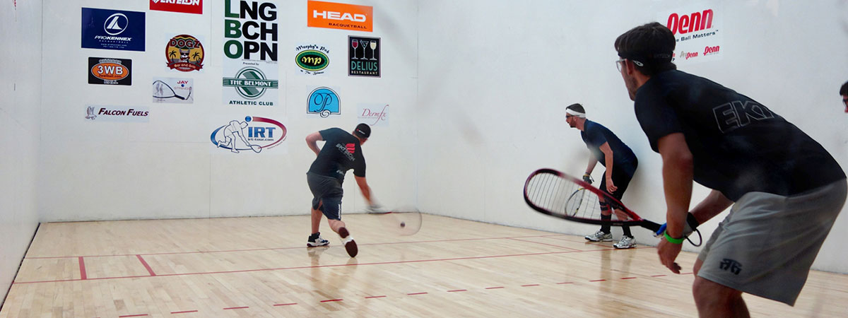 Racquetball in Belmont Shore