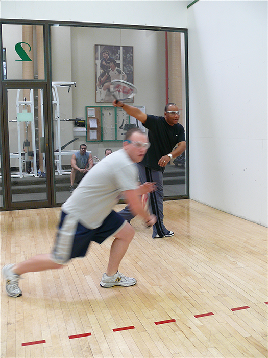 Racquetball at the Belmont on 2nd St